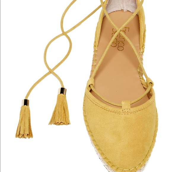 6fb143dd1e7 Franco sarto suede lace espadrilles size 8.5